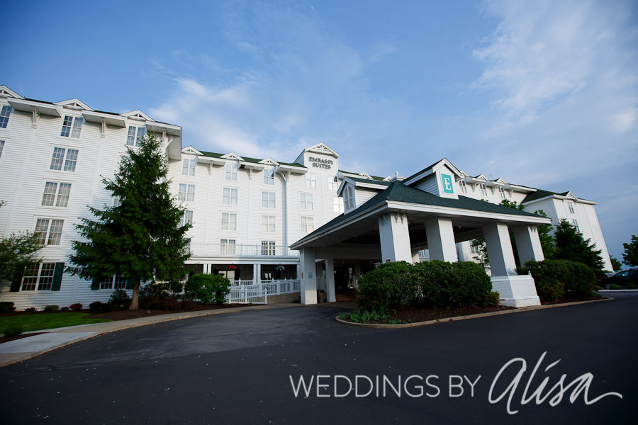 Wedding Receptions At The Embassy Suites Pittsburgh International