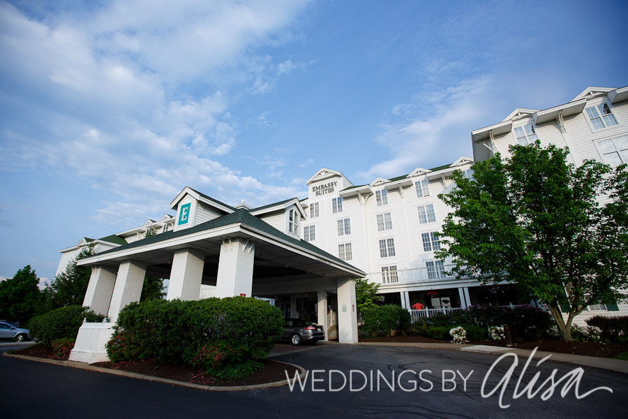 WEDDING RECEPTIONS AT THE EMBASSY SUITES PITTSBURGH INTERNATIONAL ...