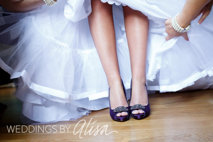 Purple Plum Wedding Heels ...