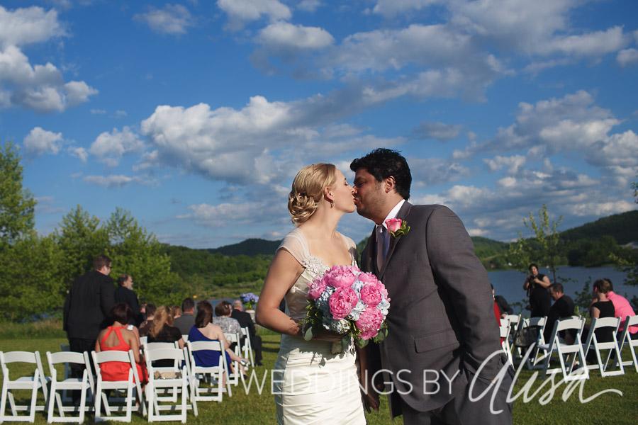 Wedding Ceremony at Stonewall Resort in Roanoke West Virginia