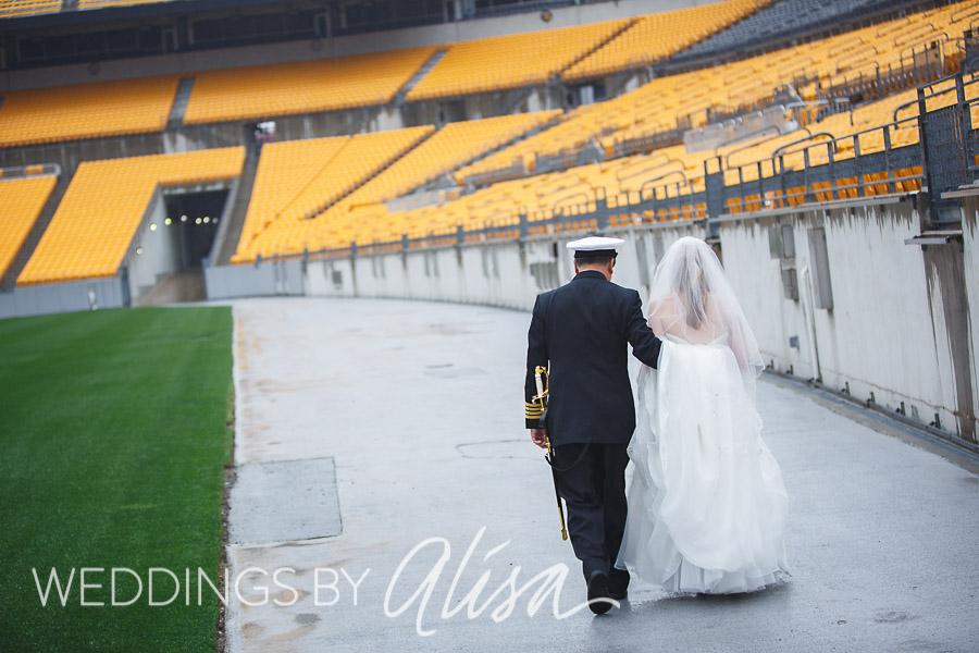 Heinz Field Wedding