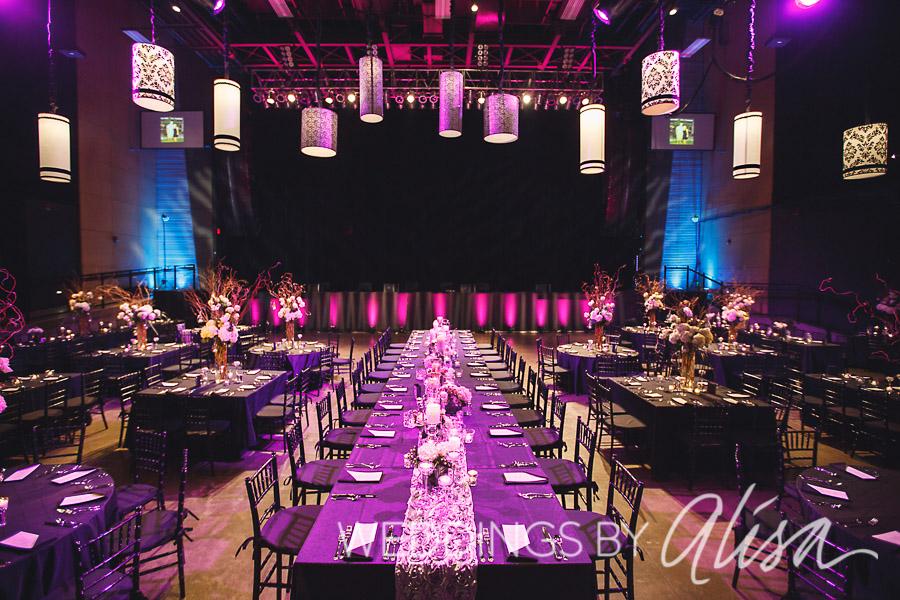 Stage AE Wedding Reception