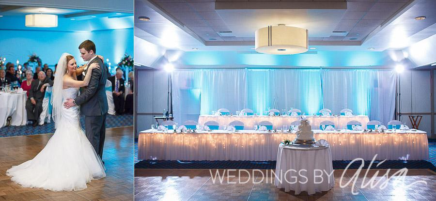 Up Lighting For Weddings | Uplighting At Pittsburgh Wedding Reception