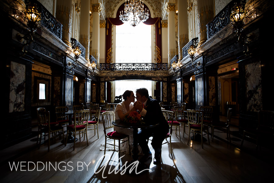 Heinz Hall Wedding Ceremony