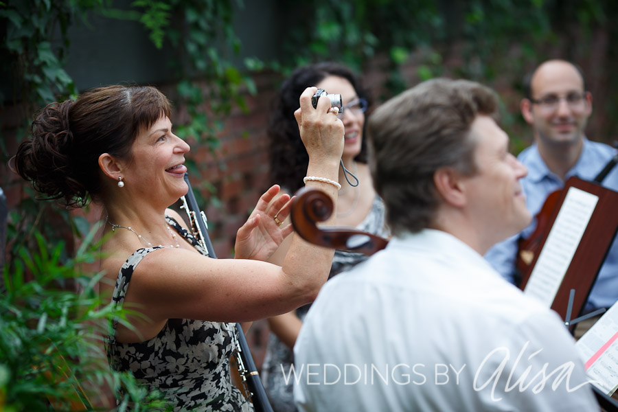 Musicians at Phipps Conservatory Wedding