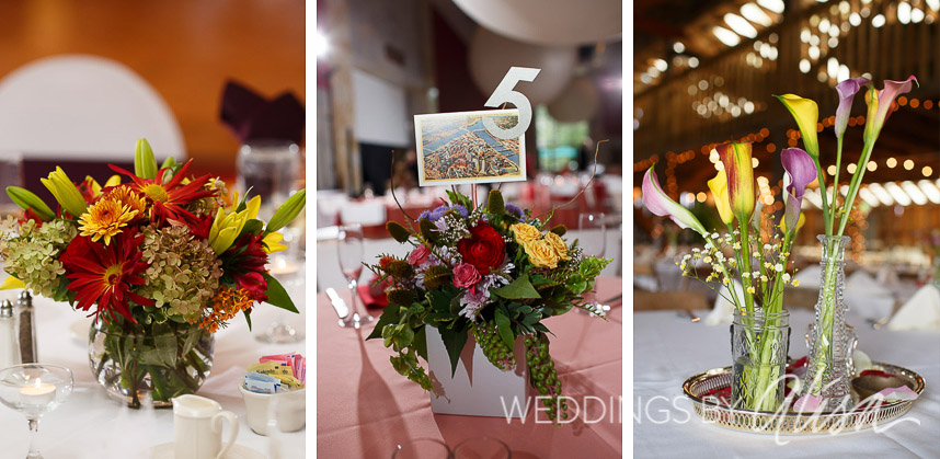 03- Short Centerpieces for Wedding Receptions