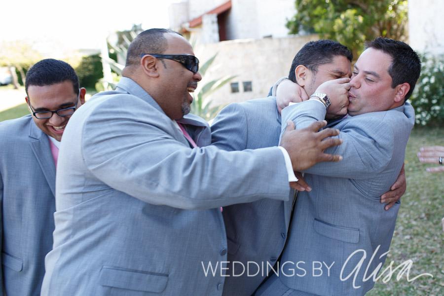 Crazy, fun wedding photography