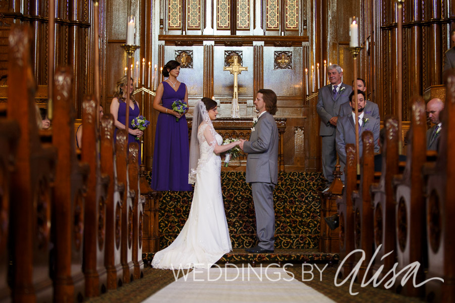 Grand Hall at the Priory Wedding Reception