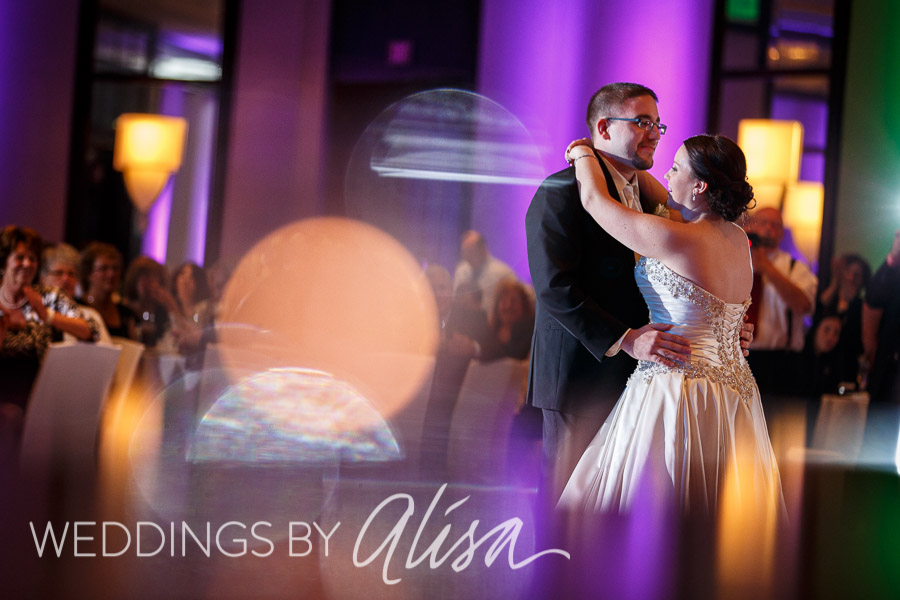 Wedding receptions at the Westin Convention Center Hotel in Pittsburgh