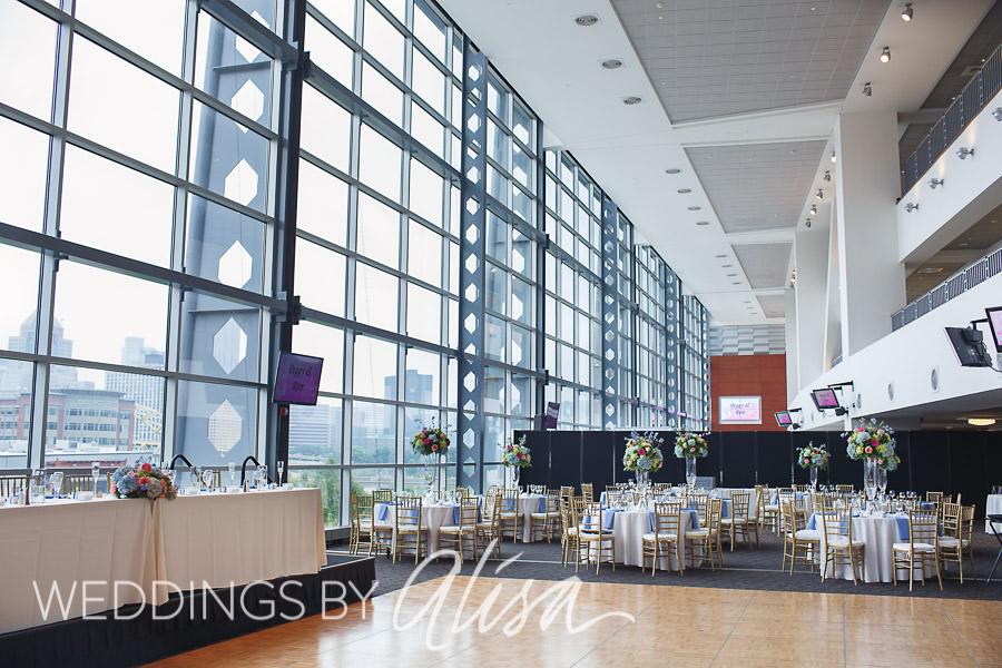 East Club Lounge Heinz Field Wedding
