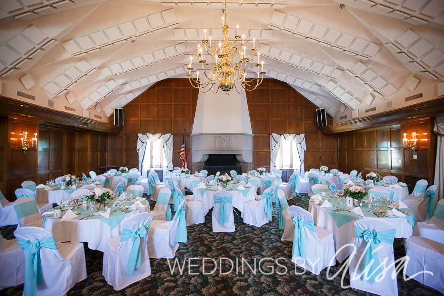 Wedding Reception Photos at Chartiers Country Club