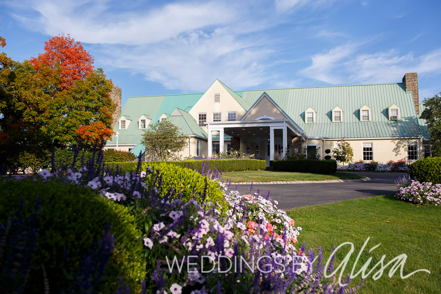 Late Summer Wedding Reception at Shannopin