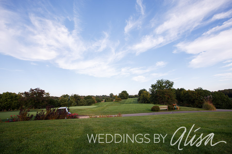 Golf Course Wedding Photos in Pittsburgh