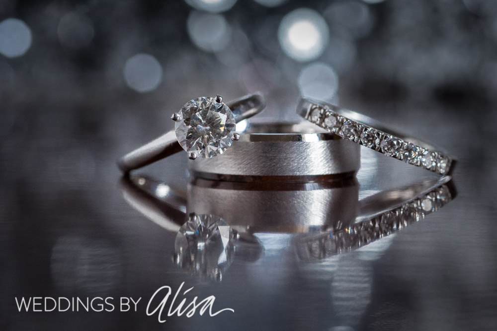 Sparkly best wedding ring shots Pittsburgh