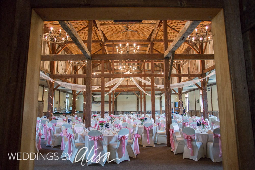 Barn At Ligonier Wedding Reception Photos