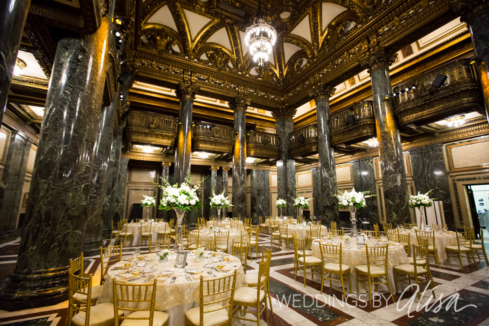 Carnegie Music Hall Wedding Reception