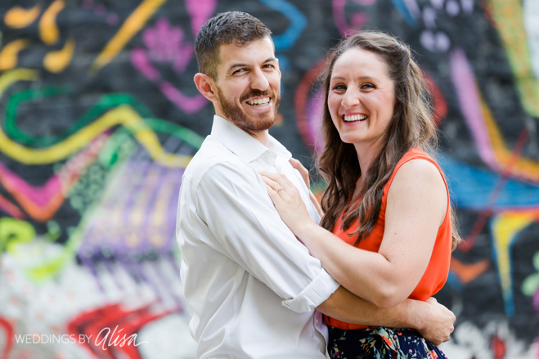 Relaxed Engagement Session in Pittsburgh
